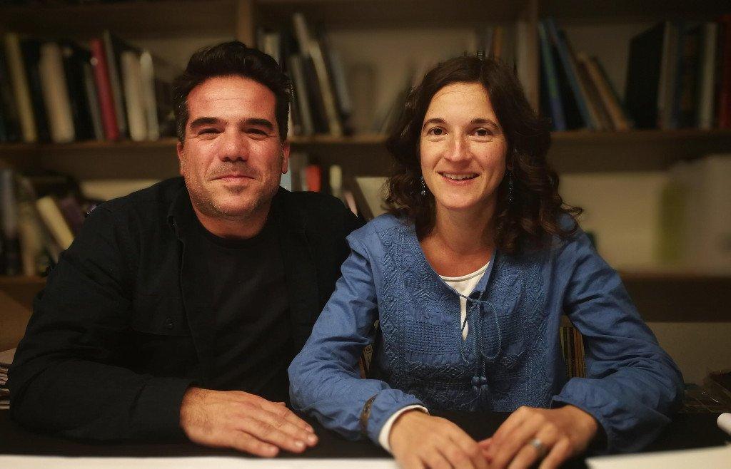 Margarida Ramos e Nuno Valentim - Responsáveis pela reabilitação da casa